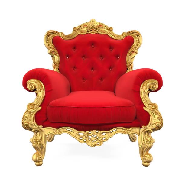 thron stuhl mit king-size-bett - könig stock-fotos und bilder