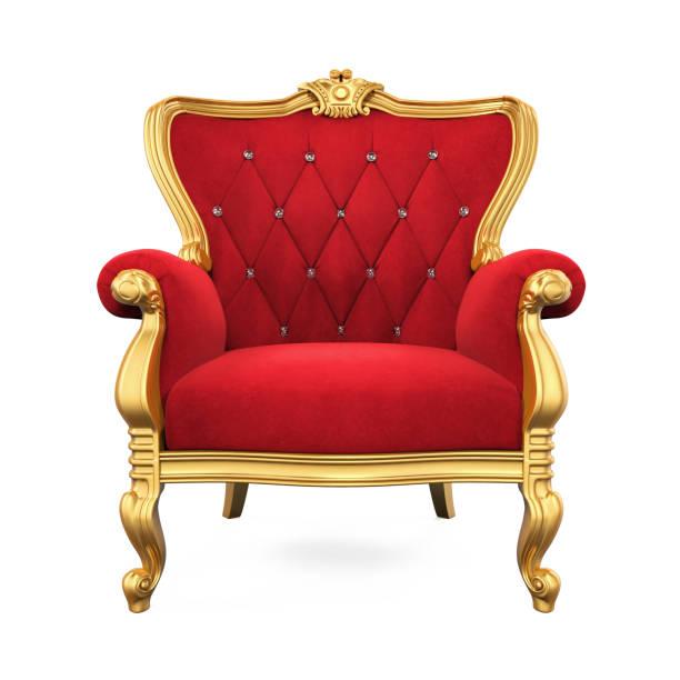 キング王座椅子 - 王座 ストックフォトと画像