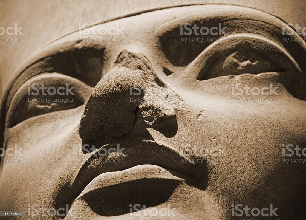 King Tutankhamen stock photo