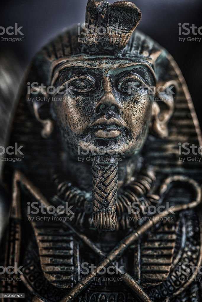 King Tutankhamun stock photo