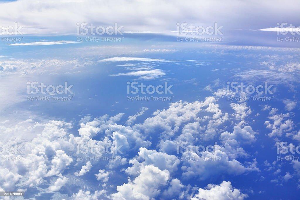 Kingdom of clouds #2 stock photo