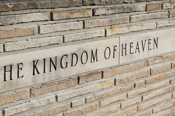 Kingdom Of Heaven in Stone stock photo