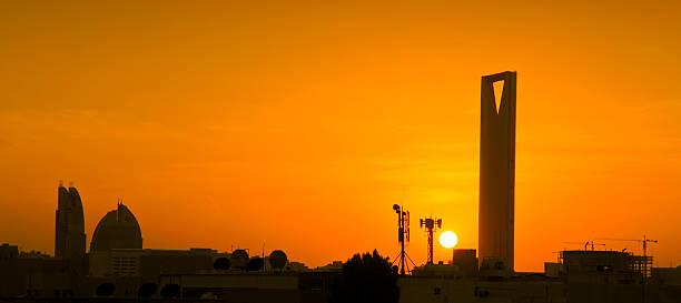 unito tower a riyadh, regno dell'arabia saudita - sharia foto e immagini stock