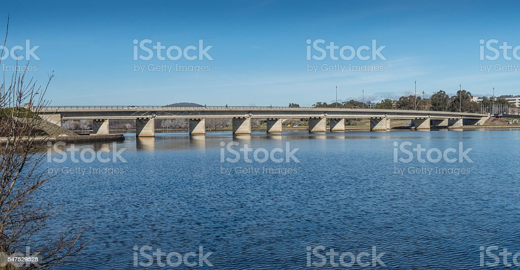 Kings Avenue Bridge stock photo