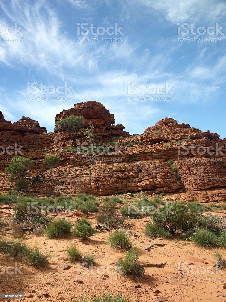 Kings Canyon, Australia royalty-free stock photo