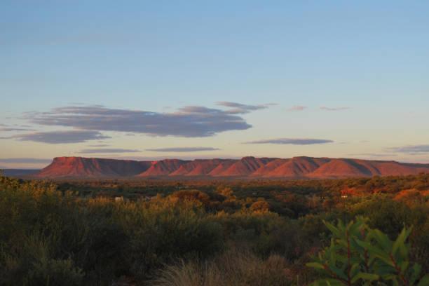 Kings Canyon, Australia stock photo