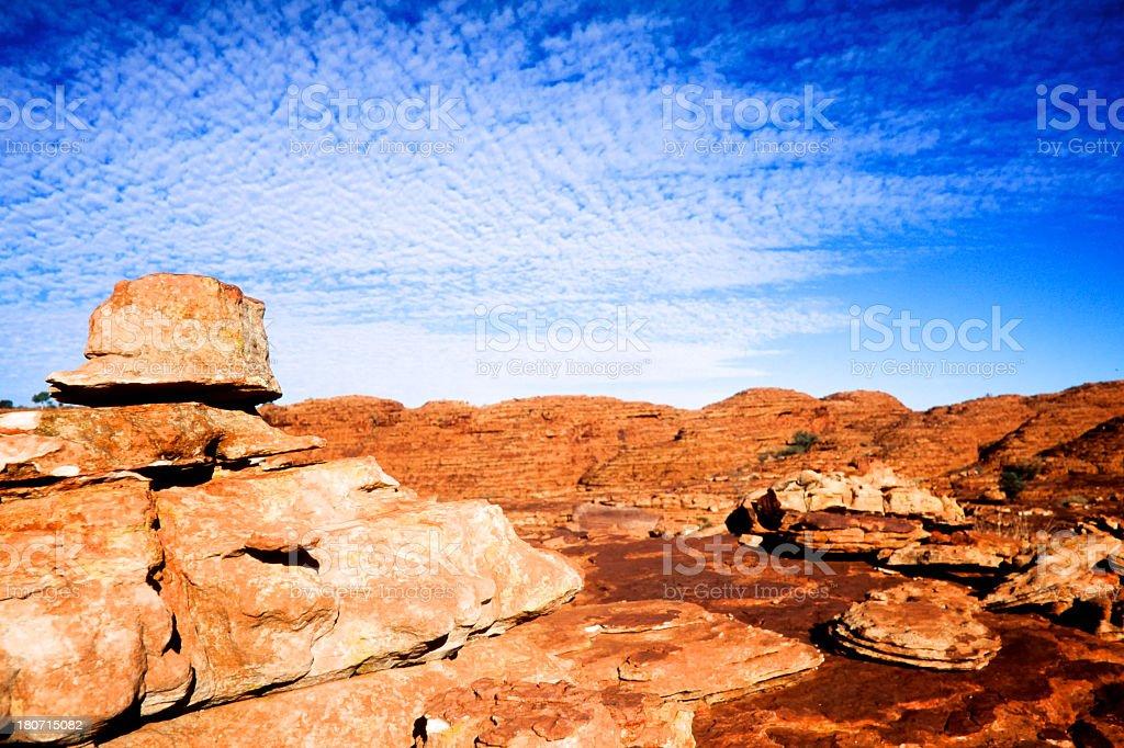 Kings Canyon in Australia royalty-free stock photo
