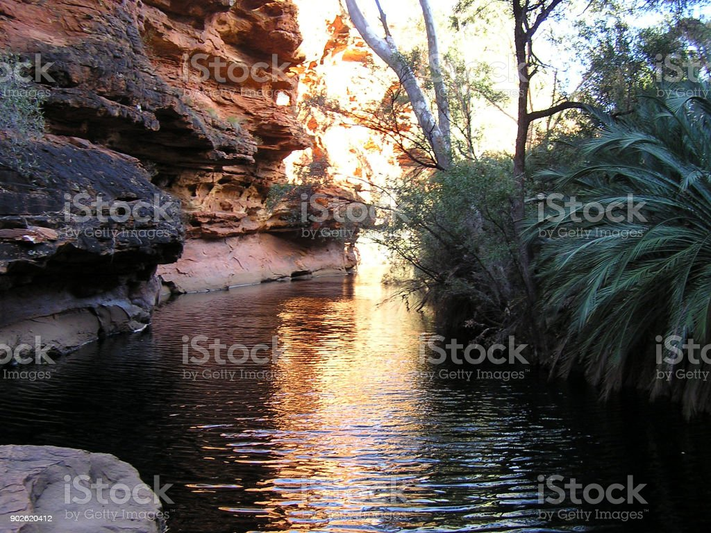 Kings Canyon National Park Australia           - stock photo