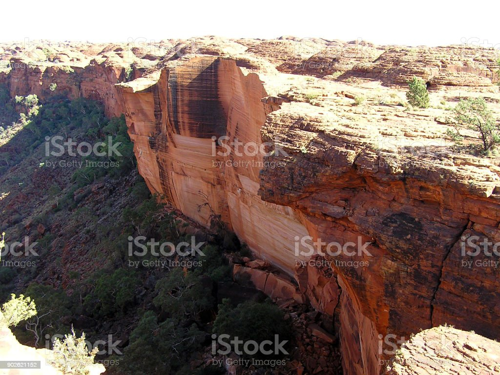 Kings Canyon National Park Australia stock photo