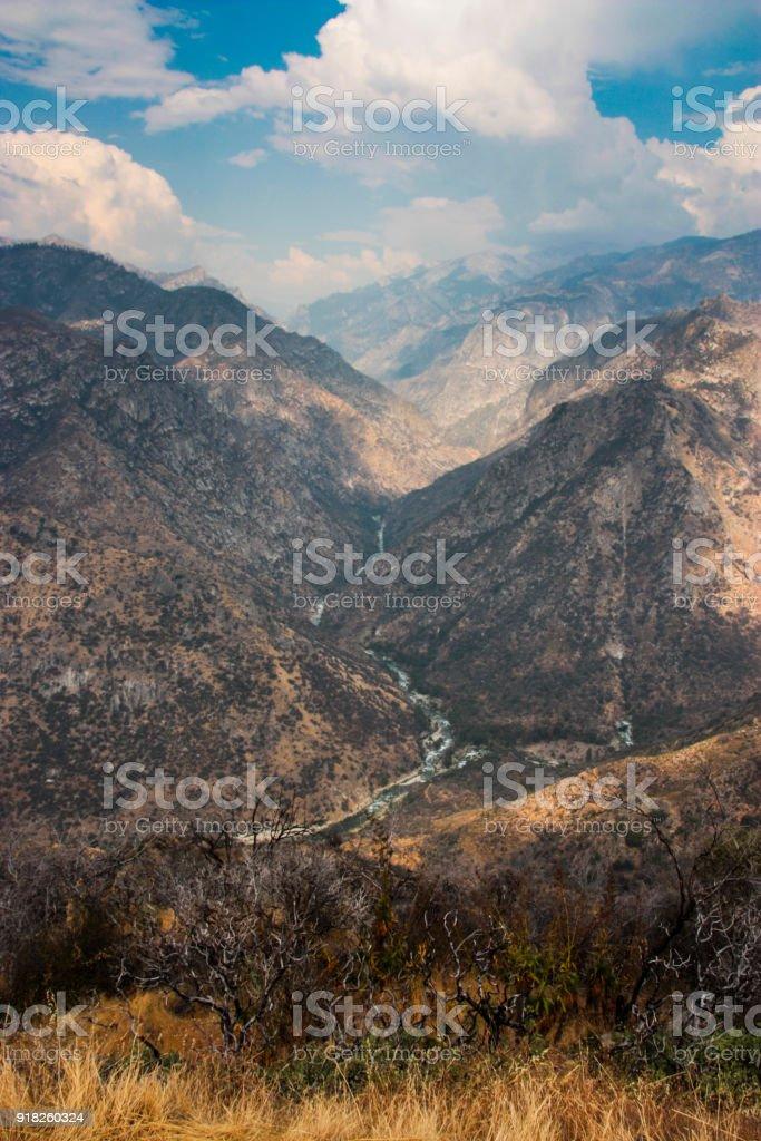 Kings Canyon National Park stock photo