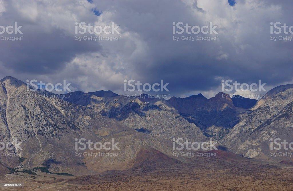 Kings Canyon Natural Border stock photo