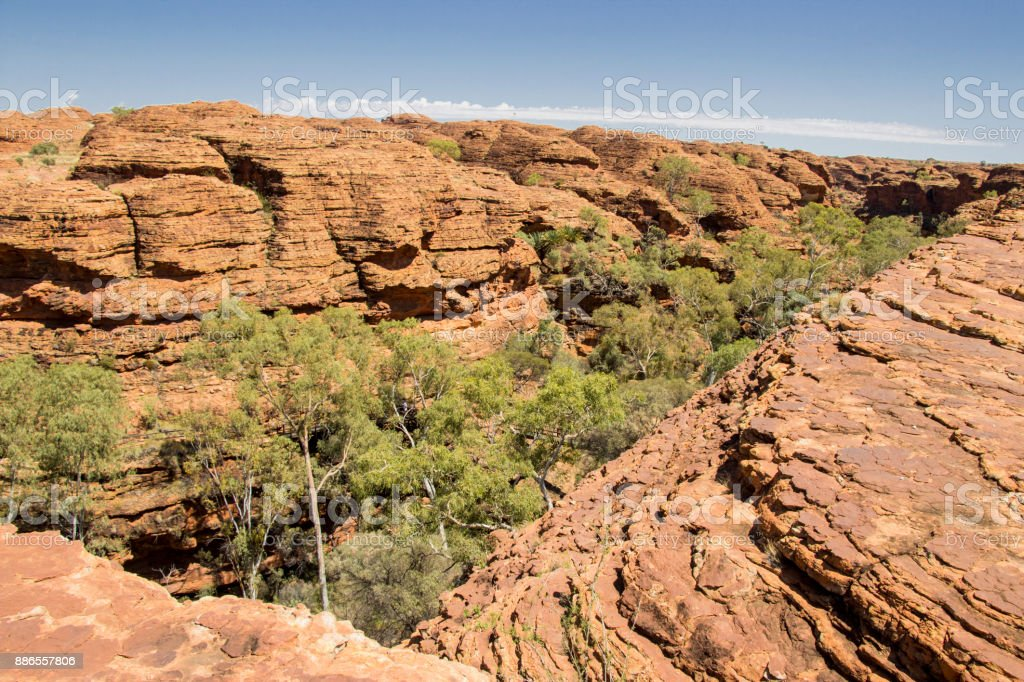 Kings Canyon Northern Territory Australia stock photo
