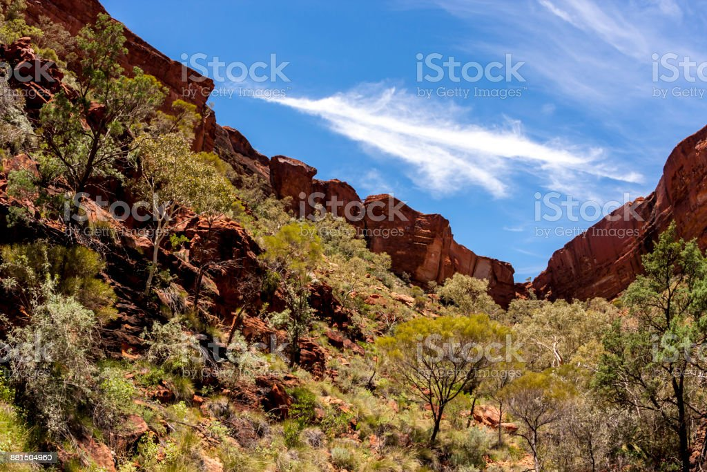 Kings Canyon, Northern Territory, Watarrka National Park,  Australia stock photo
