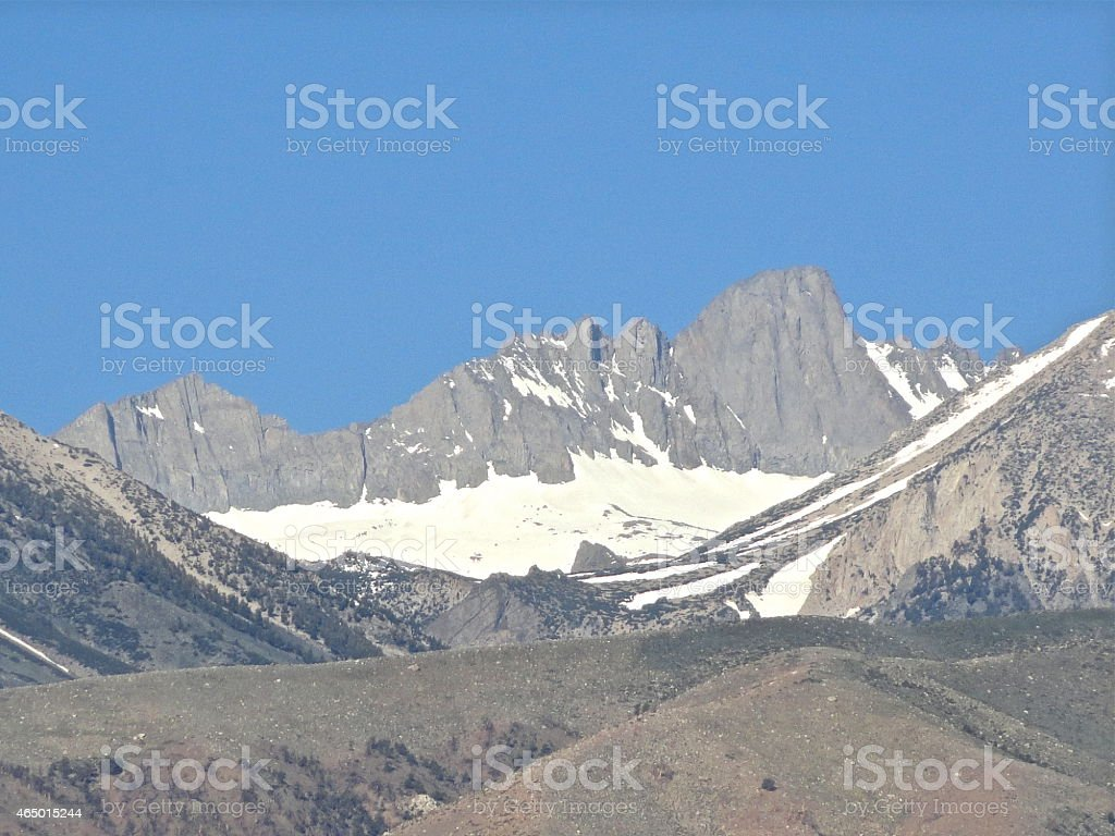 Kings Canyon NP Glacier stock photo