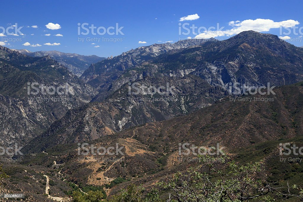 King's Canyon stock photo