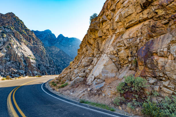 Kings Canyon Scenic Byway stock photo