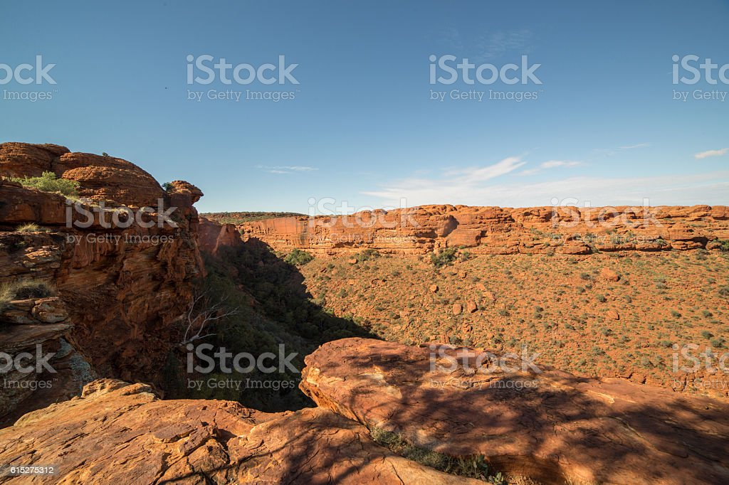 Kings Canyon, Watarrka National Park, Australia stock photo