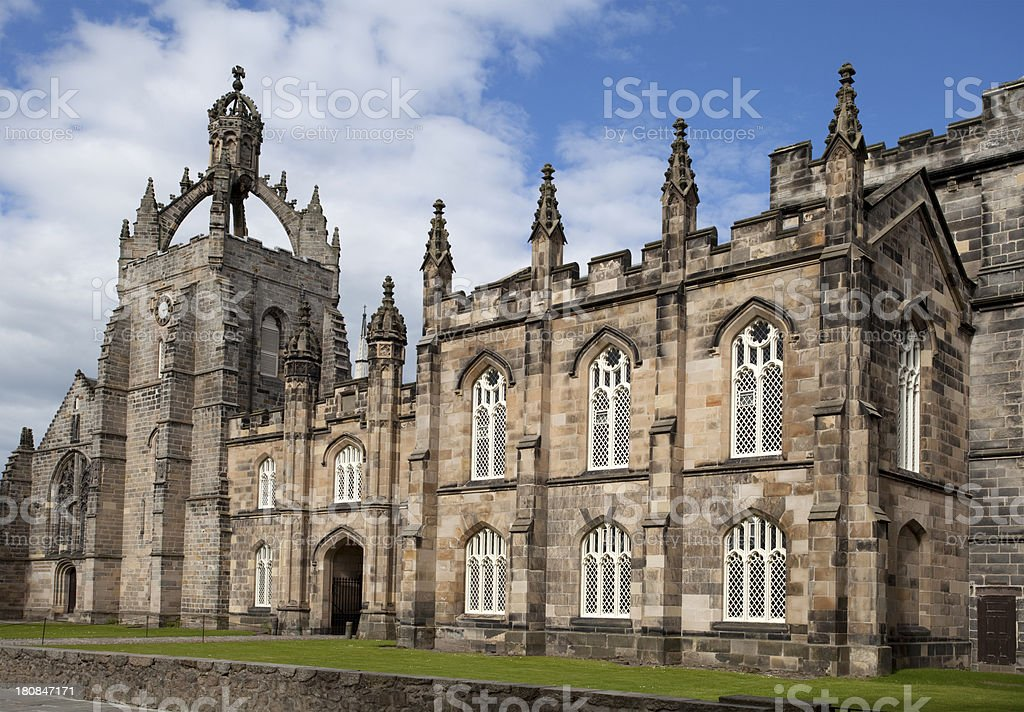 King's College, Aberdeen stock photo