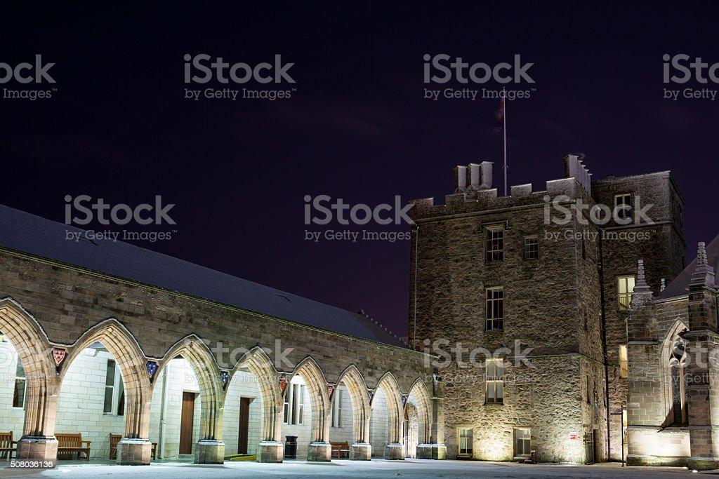 King's College Aberdeen University stock photo