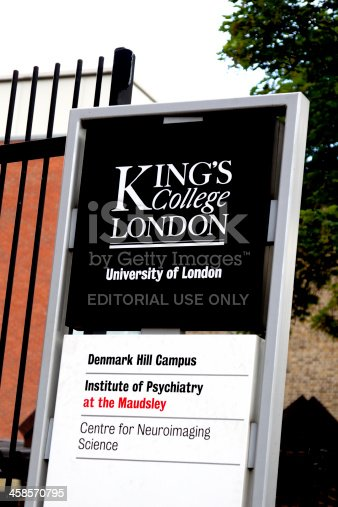 istock Kings College and Maudsley hospitals sign 458570795
