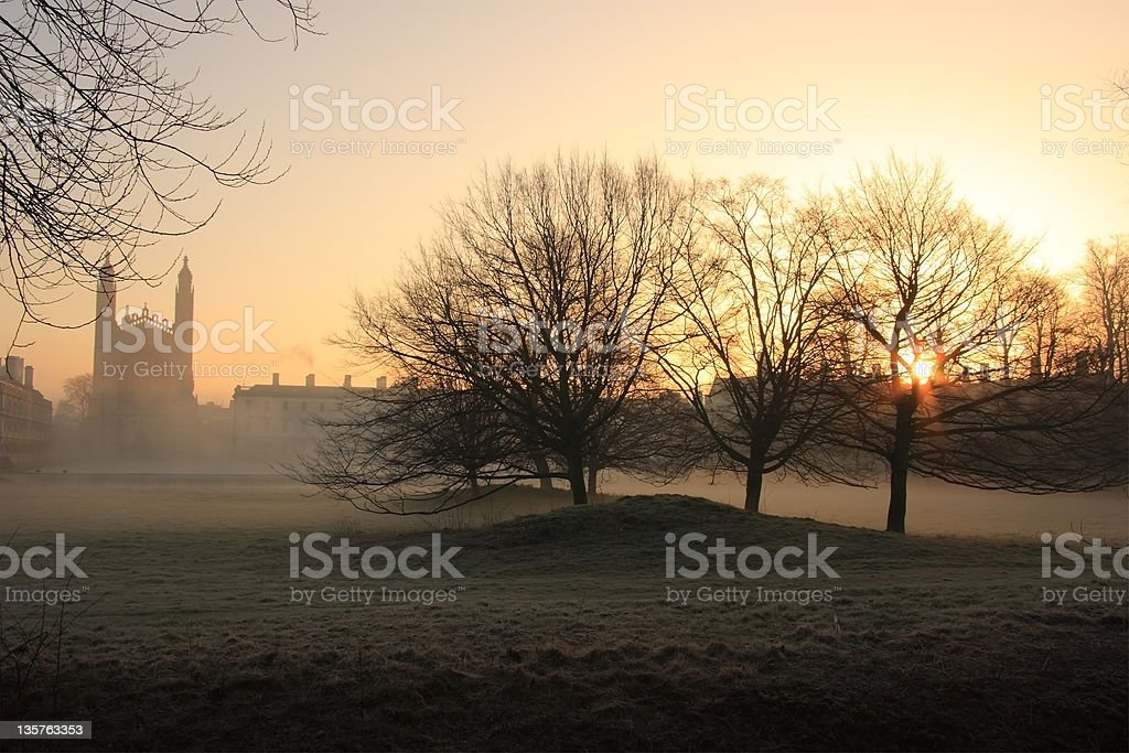 King's College, Cambridge royalty-free stock photo