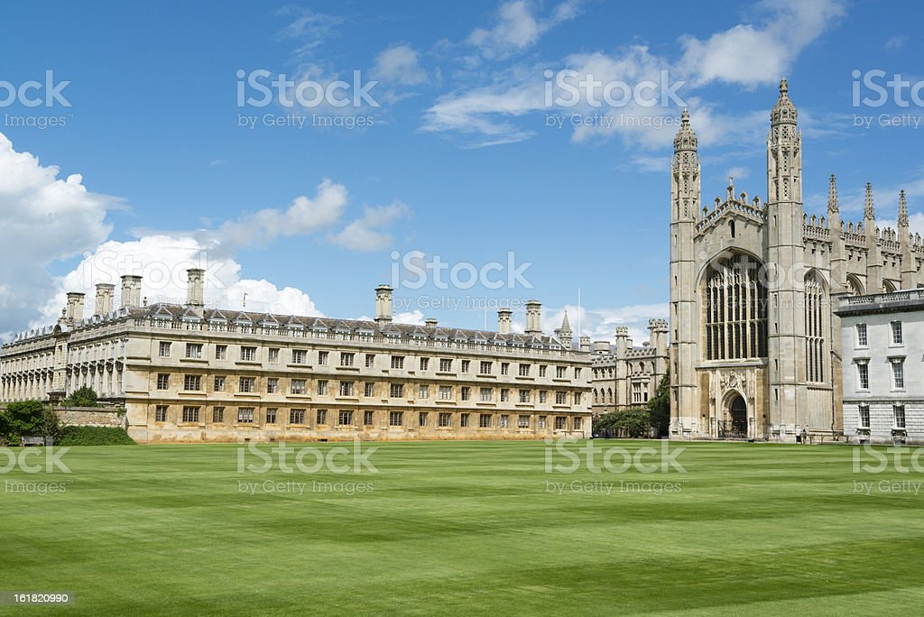 King's College, Cambridge stock photo