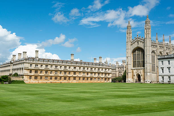 king's college, cambridge - cambridge university stock photos and pictures