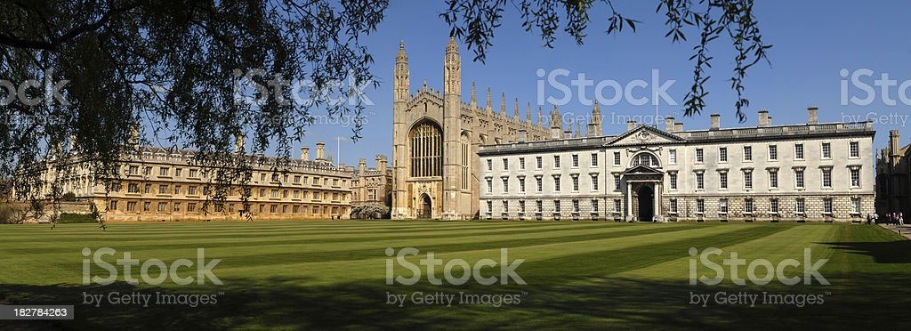 Kings College Cambridge. stock photo