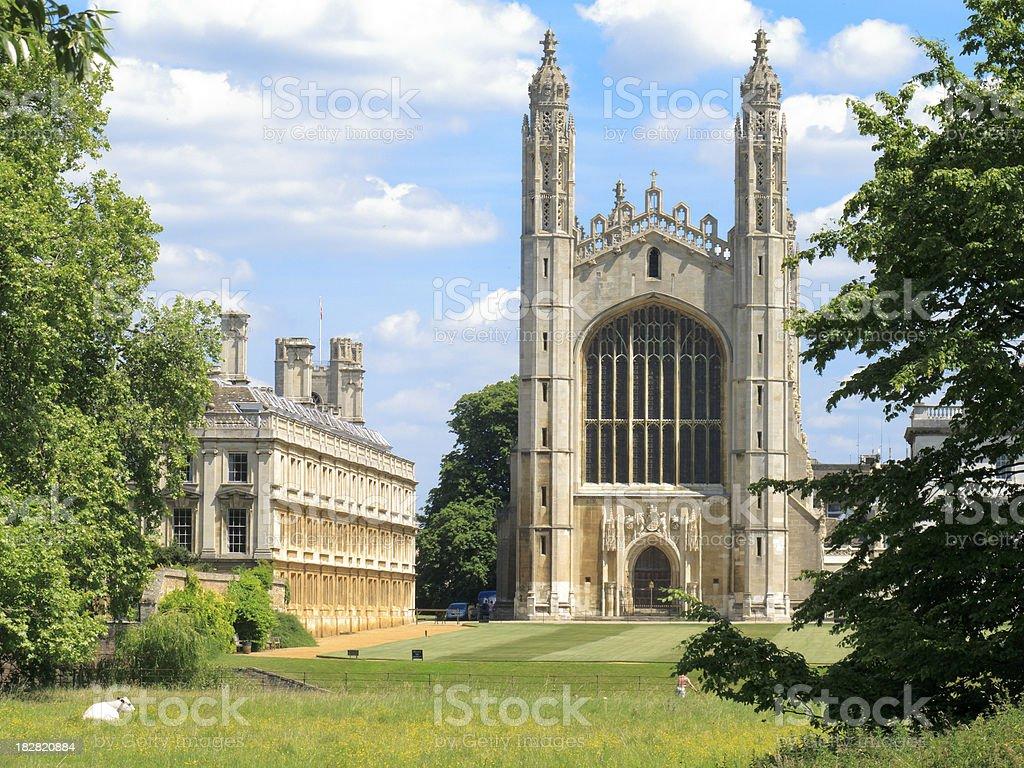 Kings College Cambridge stock photo