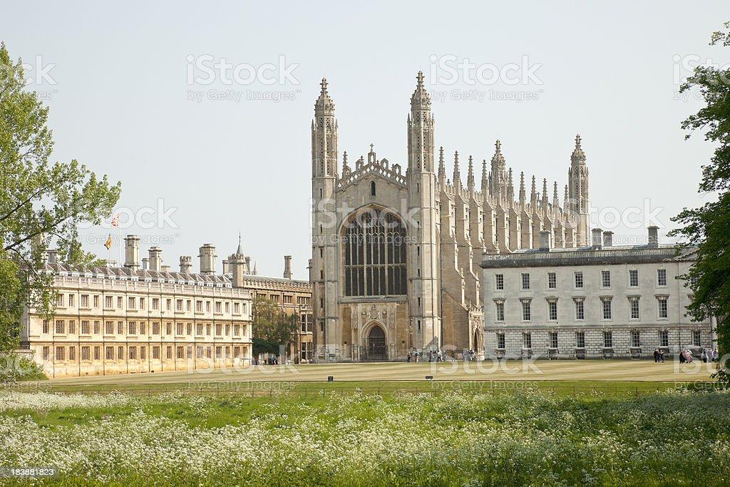 Kings College, Cambridge stock photo