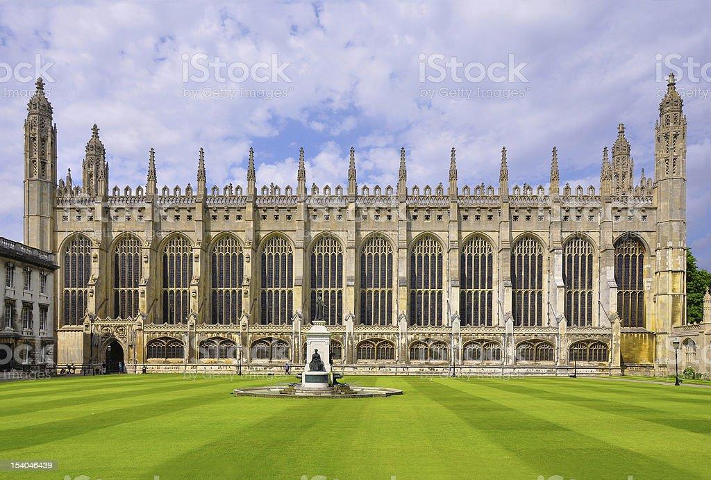 King's College Chapel, Cambridge, England stock photo