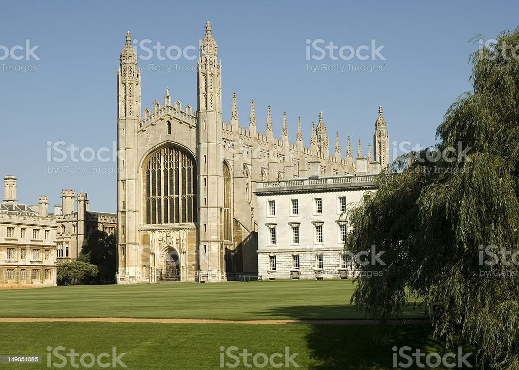 King's College Chapel, Cambridge stock photo