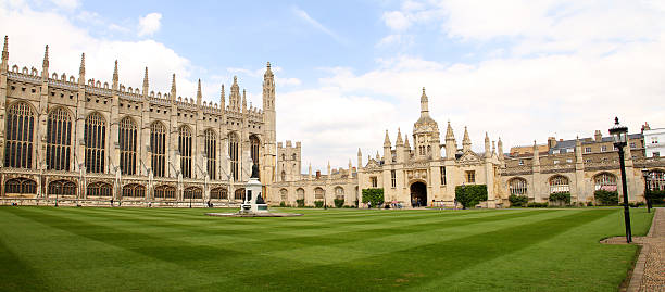 king's college in chambridge - cambridge university stock photos and pictures