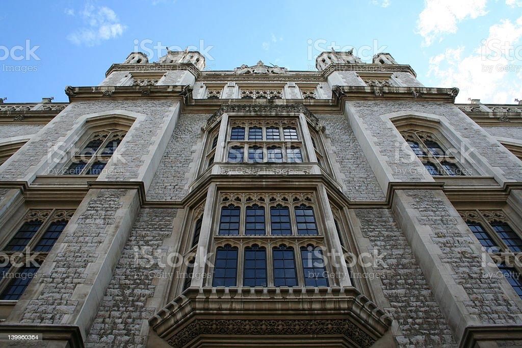 Kings College London detail stock photo