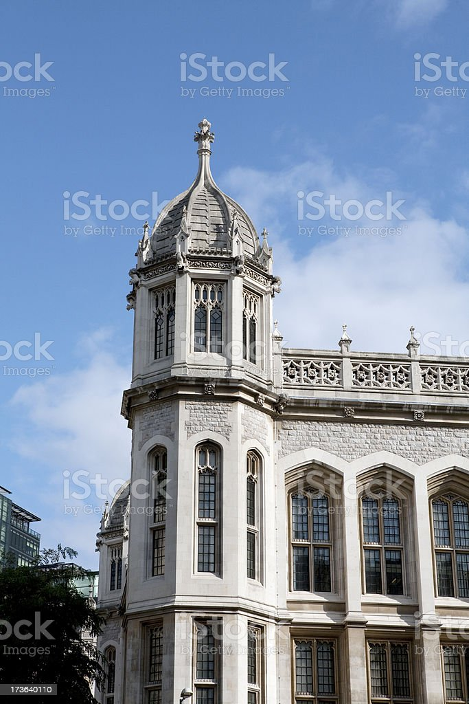 King's College London England stock photo