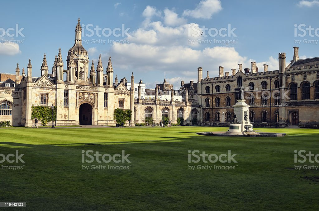 King`s College. stock photo