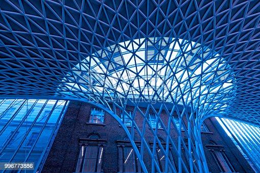 Kings Cross and St Pancras Station, London, UK