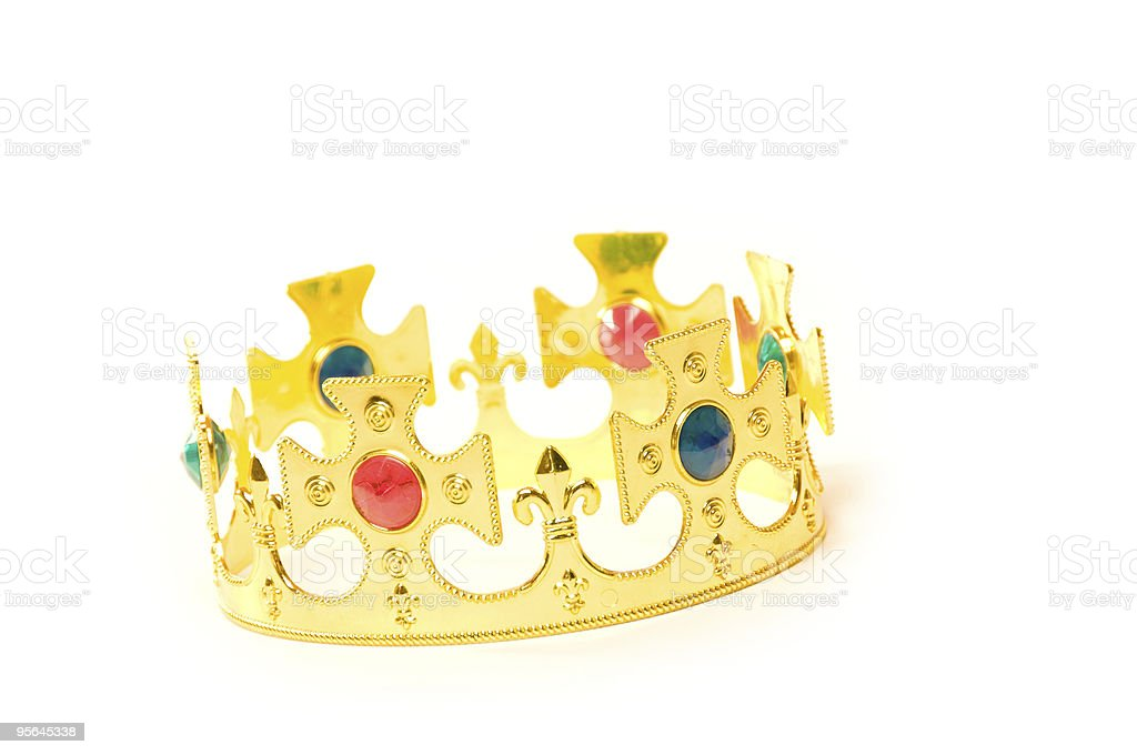 Kings crown royalty-free stock photo