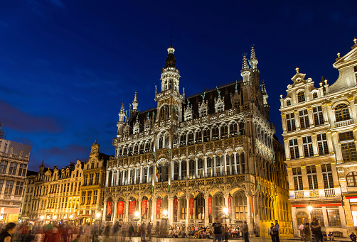 King's House in Brussels, Belgium
