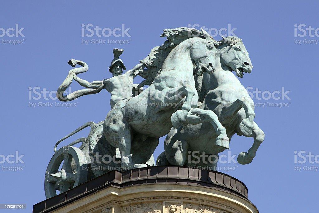 Kings Of Hungary royalty-free stock photo