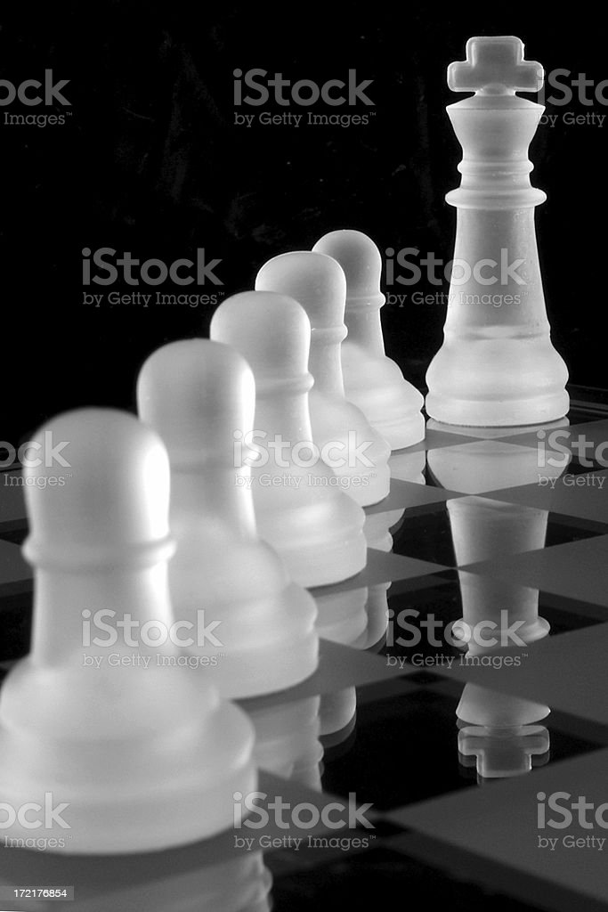 King's Pawns royalty-free stock photo