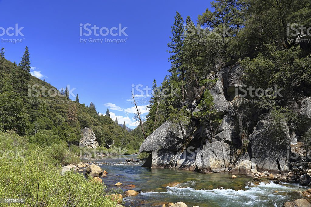 Kings River stock photo