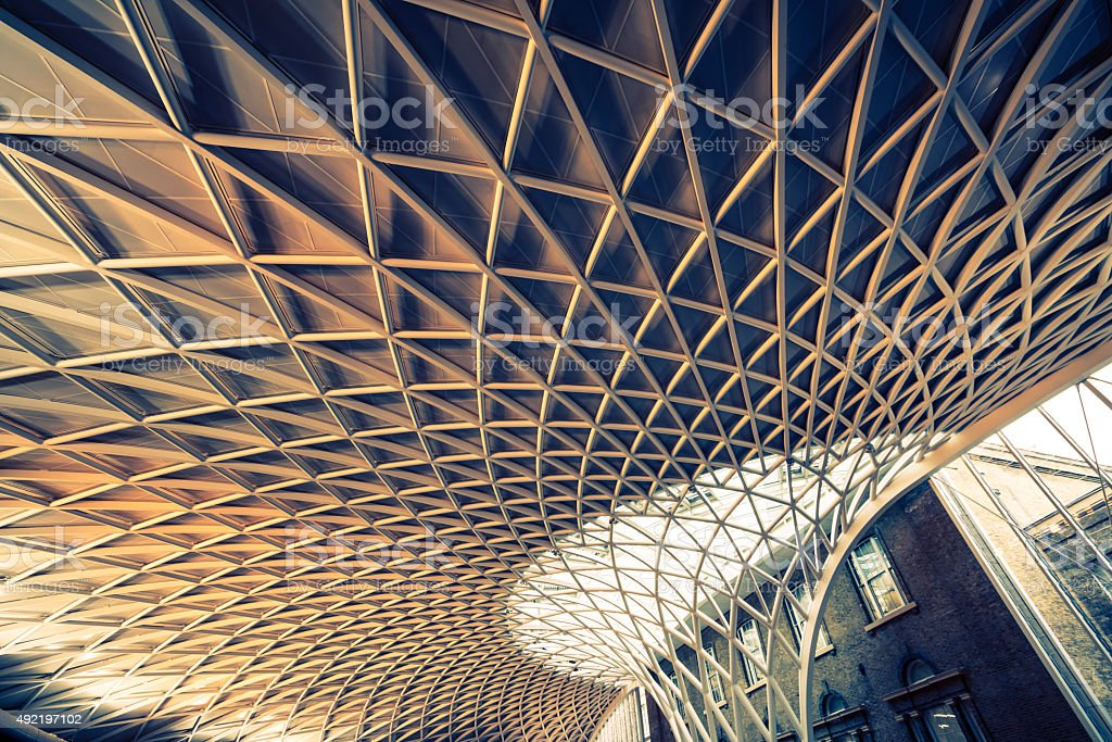 Kings X roof sharp stock photo
