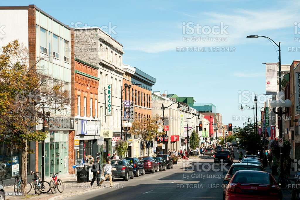 Kingston - Canada stock photo