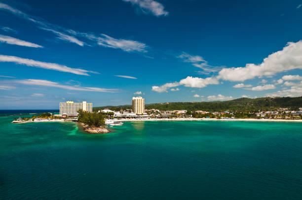 kingston coastline - jamaica stock photos and pictures