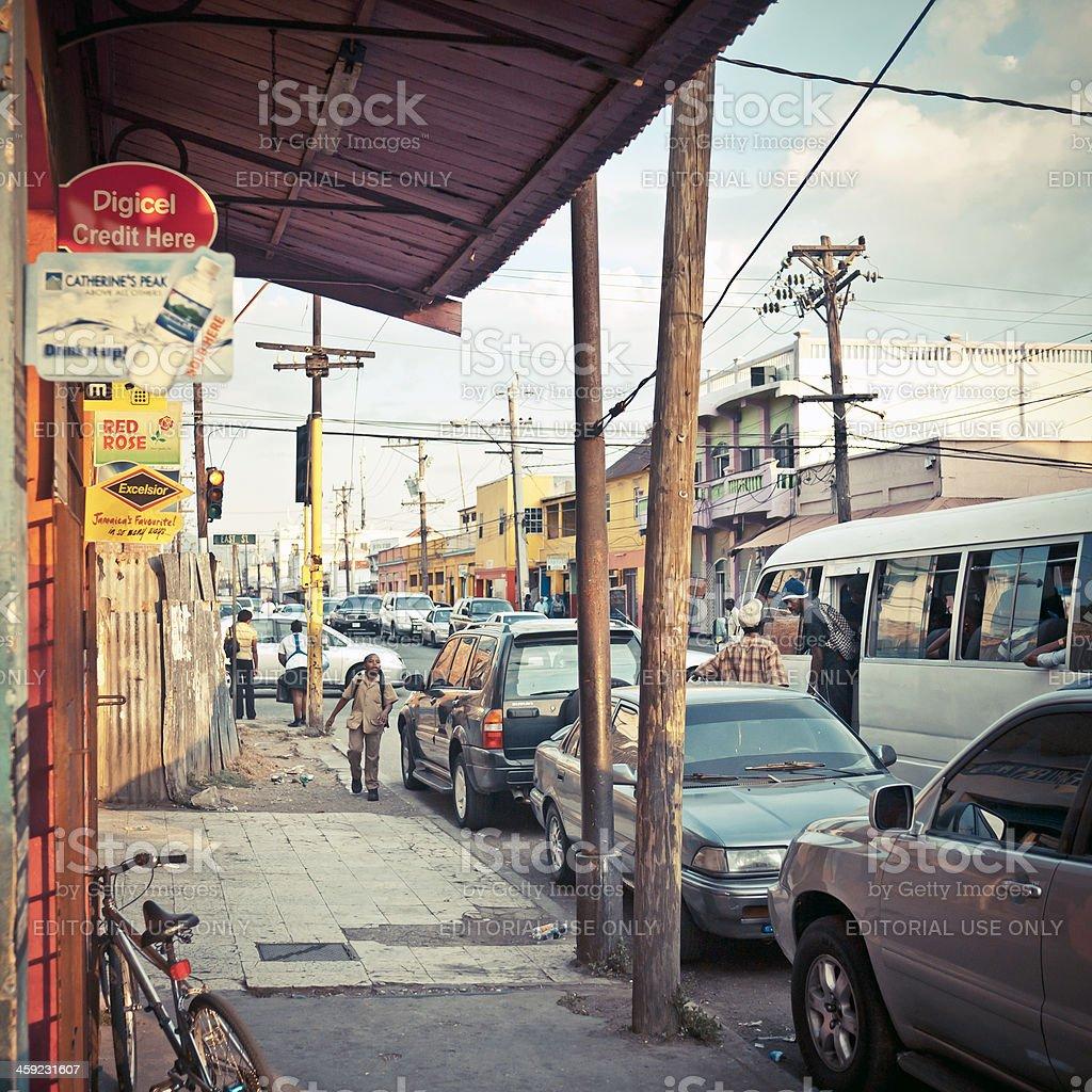 Kingston downtown. stock photo