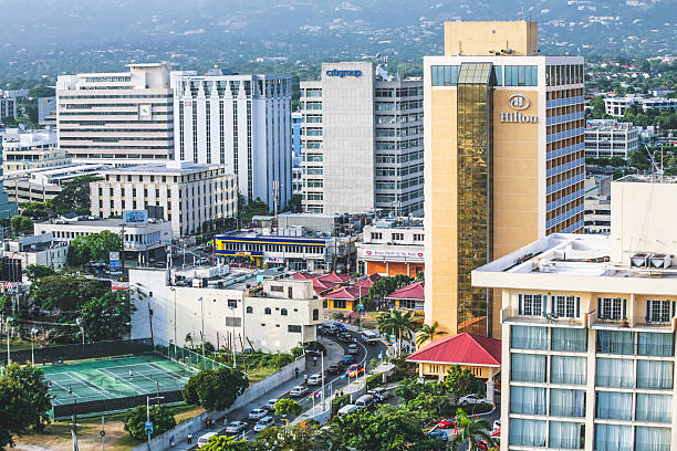 kingston, jamaica. - jamaica stock photos and pictures