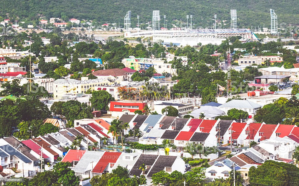 Kingston, Jamaica. stock photo