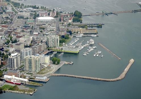 Kingston Luftaufnahme Stockfoto und mehr Bilder von Anlegestelle
