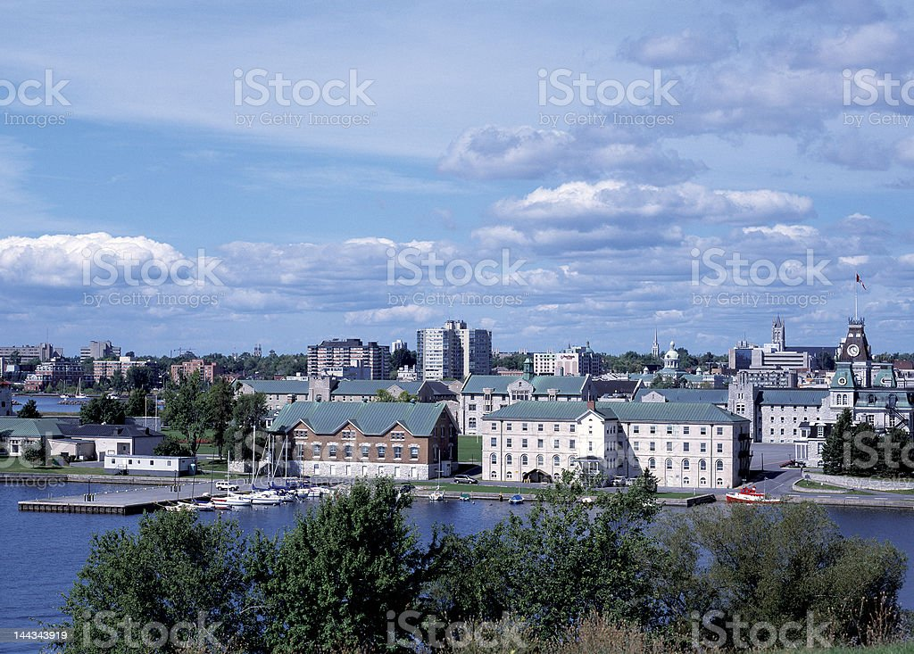 Kingston Skyline stock photo